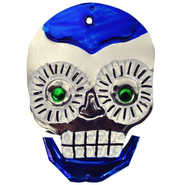 Sugar Skull Blau