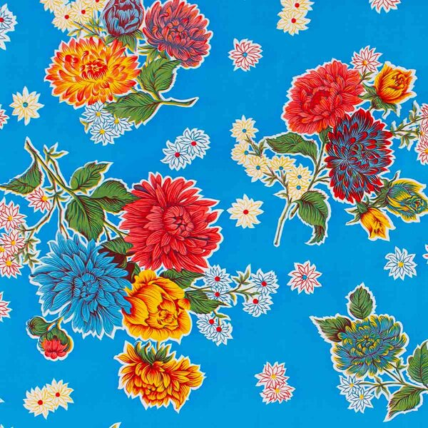 Chrysantheme Blau