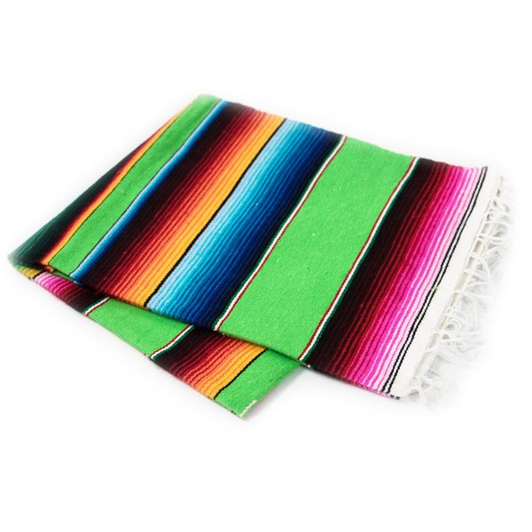 Serape Lime Green