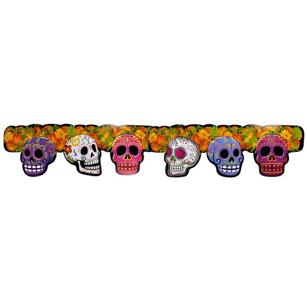 Sugar Skull Garland XL