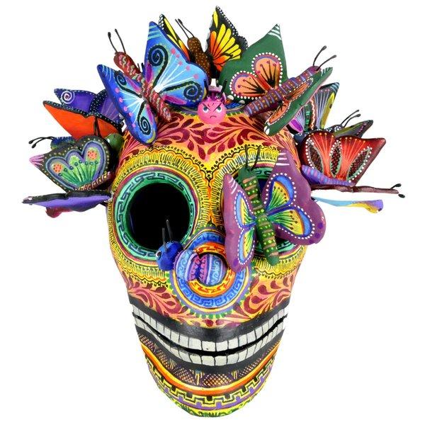 Schmetterlings Skull