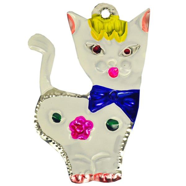 Mexikanischer Christbaumschmuck Katze Superskull