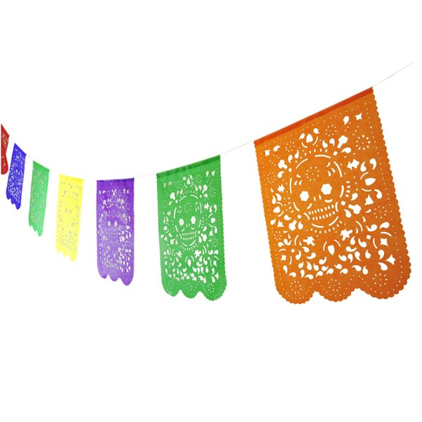 Papel Picado Sugar Skull