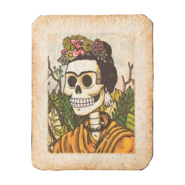 Frida Skull Magnet