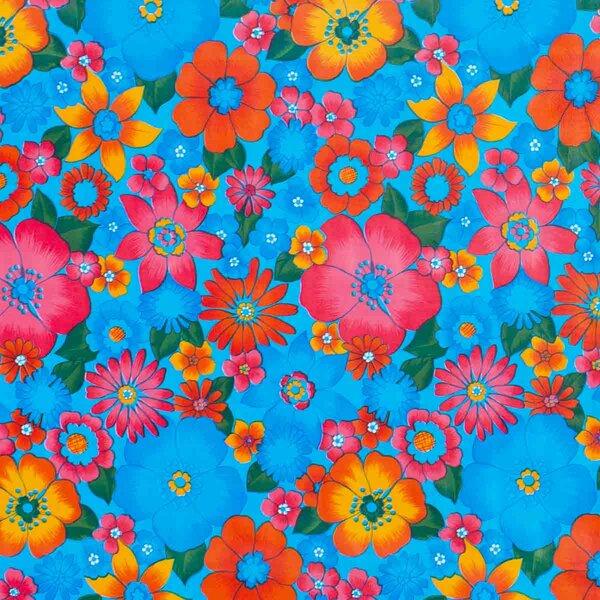 Flowerpower Blau