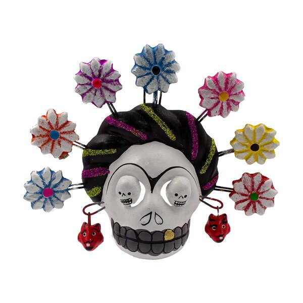 Frida Kahlo Flower Mask