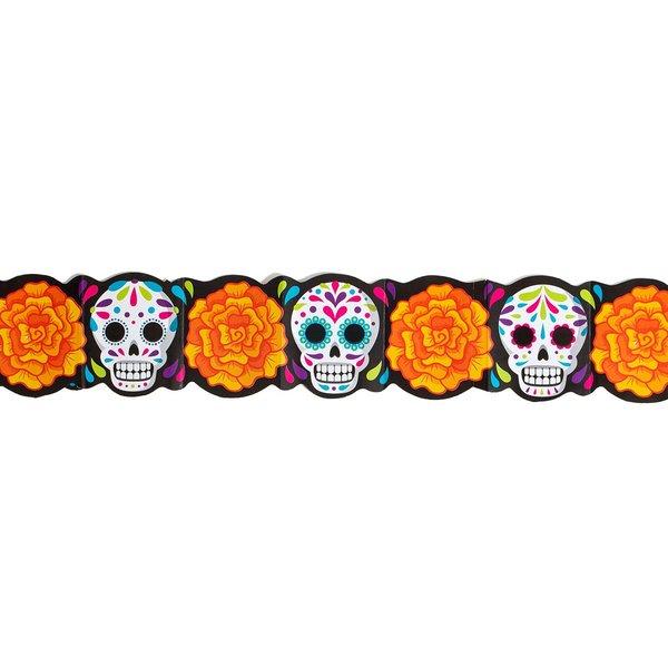 Marigold Skull Garland