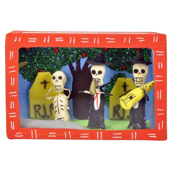 Dia de los Muertos Schrein