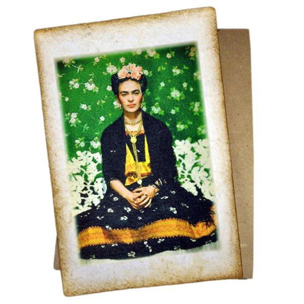 Frida Kahlo Postkarte