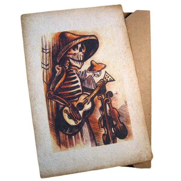 Guitarrista Postkarte