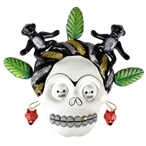 Frida Kahlo Skullmaske