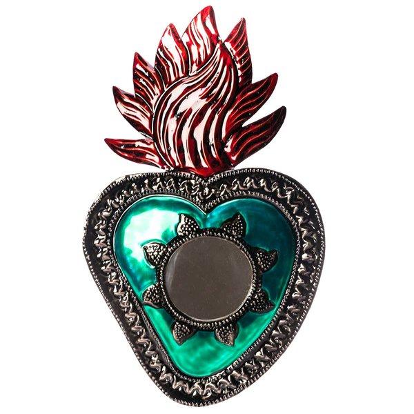 Herzspiegel Grün