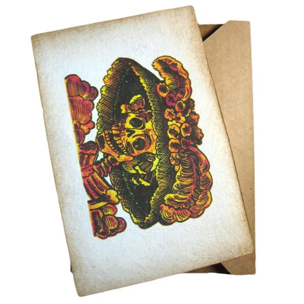 La Catrina Greeting Card