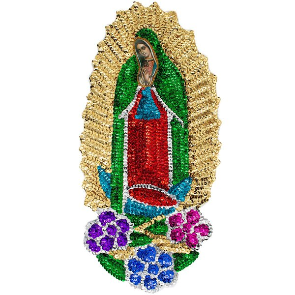 Guadalupe Sequin Patch XL