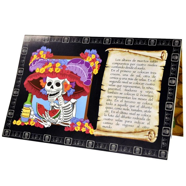 La Catrina Pop Up Karte