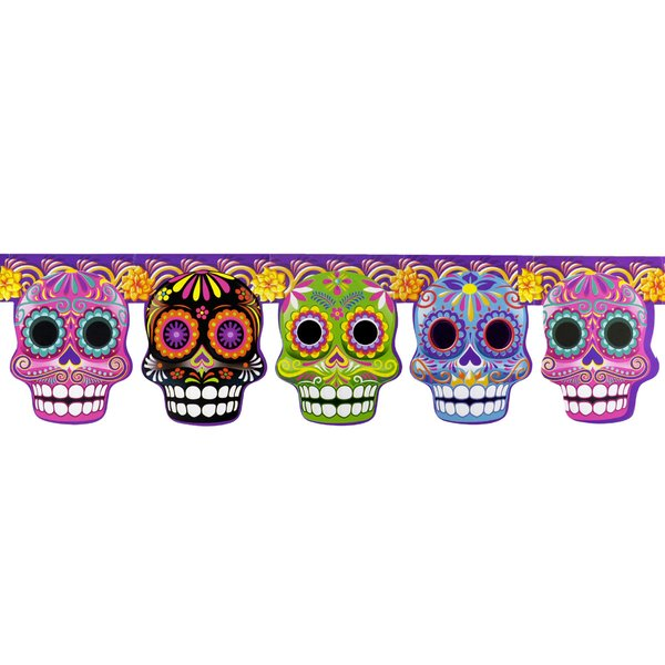 Sugarskull Girlanden