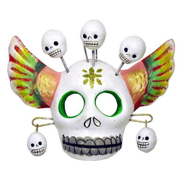 Winged Skull Mask