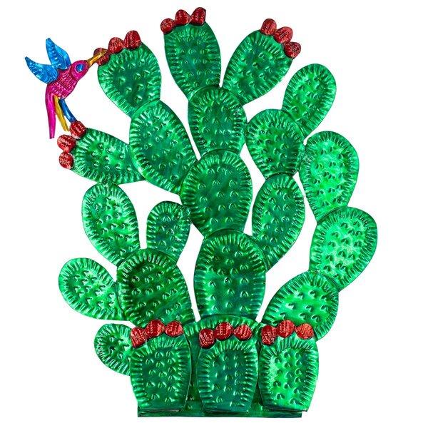 Nopal Kaktus Wandschmuck
