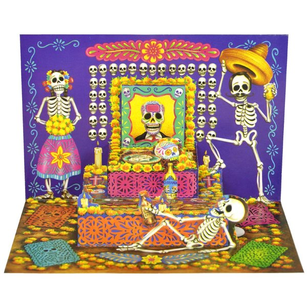 Pop Up Karte Altar